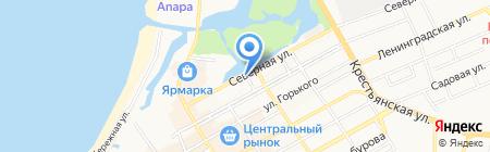 Галина на карте Анапы