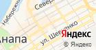 Универсальный на карте