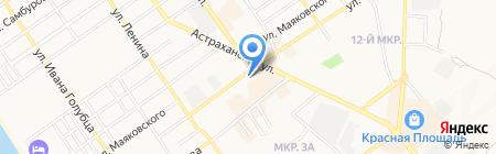 Адвокатский кабинет Шестак Н.В. на карте Анапы