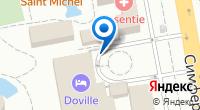Компания Довиль Отель & SPA на карте