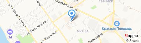 Всё для всех на карте Анапы