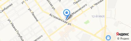 Совкомбанк на карте Анапы