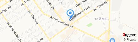 Магазин карнизов и штор на карте Анапы