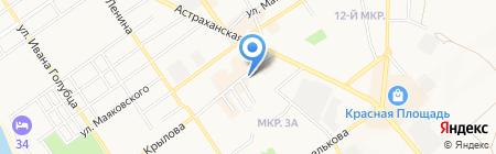 Банкомат Банк УРАЛСИБ на карте Анапы