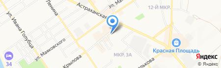 Дезстанция-Анапа на карте Анапы
