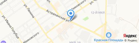 Сказка-Кроха на карте Анапы