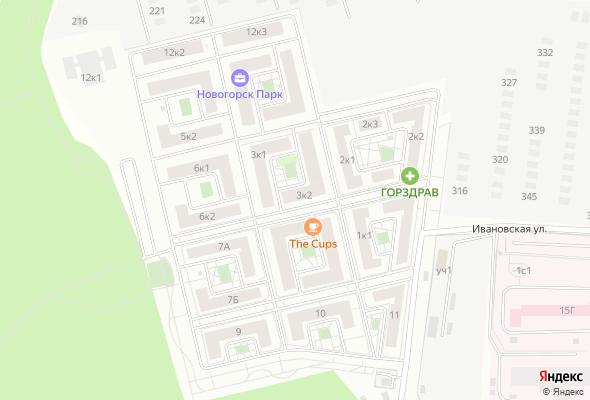 купить квартиру в ЖК Новогорск Парк