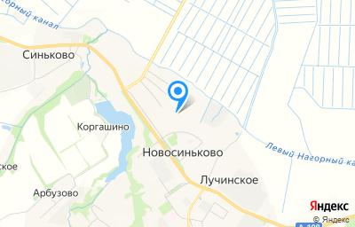 Местоположение на карте пункта техосмотра по адресу Московская обл, г Дмитров, п Новосиньково, д 95 стр 1