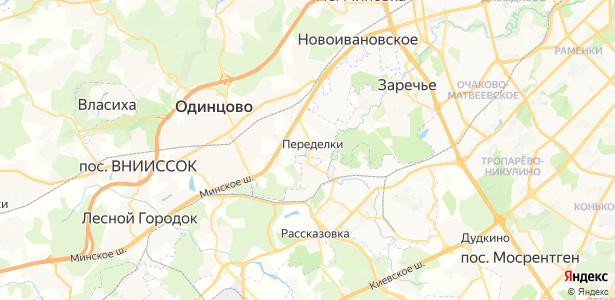 Переделки на карте
