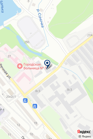 ПСККРУГ-СТРОЙСЕРВИС на карте Красногорска
