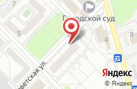 Схема проезда до компании Первый Полиграфический Комбинат в Красногорске