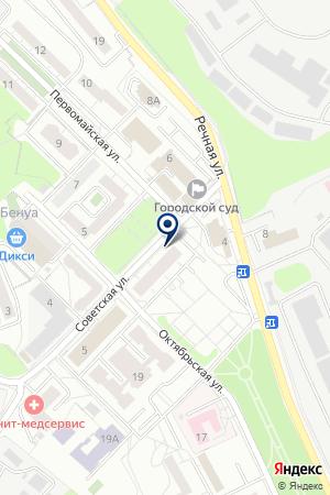 САЙТУМ — ПРОДВИЖЕНИЕ САЙТОВ на карте Красногорска