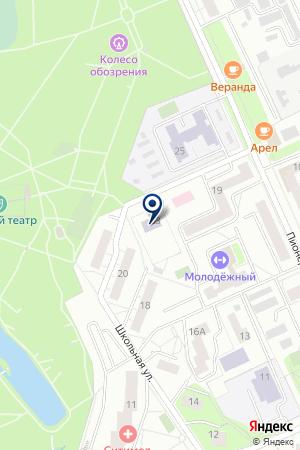 КРАСНОГОРСКИЙ ЛИЦЕЙ на карте Красногорска
