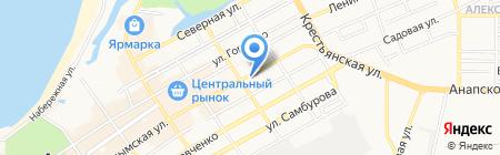 Спортивно-оздоровительный центр Бубновского на карте Анапы