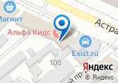 Протэк-Анапа на карте