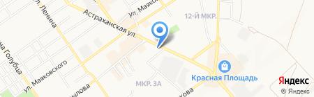 Адвокатский кабинет Польшина Е.А. на карте Анапы