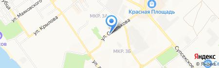 ЦЕНТРОФИНАНС ГРУПП на карте Анапы