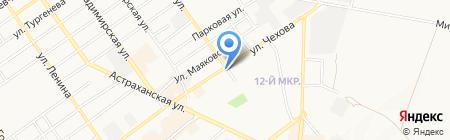 Янсен на карте Анапы