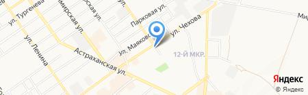 Антарес на карте Анапы
