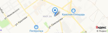 Управление Пенсионного фонда РФ в г. Анапе на карте Анапы