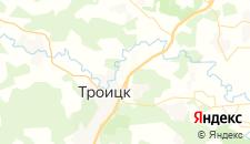 Гостиницы города Ватутинки на карте