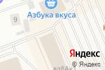 Схема проезда до компании Инлавка в Лапшинке