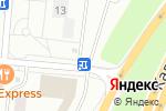 Схема проезда до компании Магазин фастфудной продукции в Ватутинках