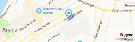 РГСУ на карте Анапы