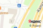Схема проезда до компании Церковная лавка в Ватутинках
