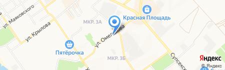 Эксклюзив-ДВ на карте Анапы