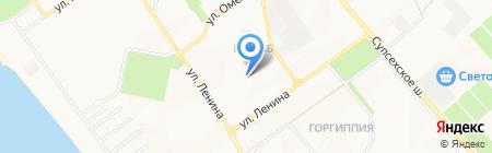 Строящиеся объекты на карте Анапы