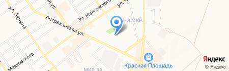 Hotelvip.ru на карте Анапы