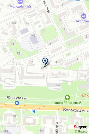 ILS INTERNATIONAL LANGUAGE SCHOOL на карте Красногорска
