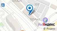 Компания Сервисная фирма на карте