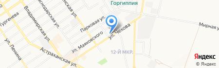 Наталья на карте Анапы