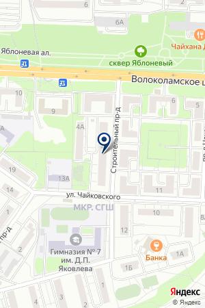 КОМПЬЮТЕРНЫЙ МАГАЗИН ВЯЗ на карте Красногорска