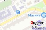 Схема проезда до компании Крымский вал в Анапе
