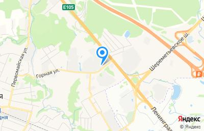 Местоположение на карте пункта техосмотра по адресу Московская обл, г Химки, кв-л Кирилловка, влд 1