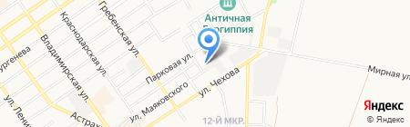 Кубань-Нефтепродукт на карте Анапы