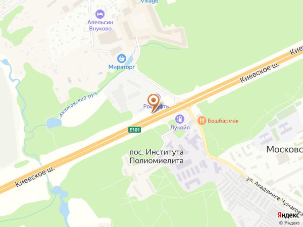Остановка «Ин-т Полиомиелита», Киевское шоссе (9568) (Москва)