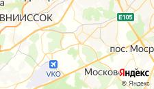 Гостиницы города Рассказовка на карте