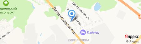 АЗС ЛУКОЙЛ на карте Химок
