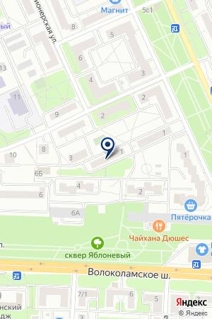 СТРОИТЕЛЬНАЯ КОМПАНИЯ ВЕТЕРАН 2000 на карте Красногорска