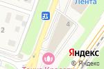 Схема проезда до компании Банкомат, Московский кредитный банк, ПАО в Трехгорке