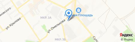 Юридическая компания на карте Анапы