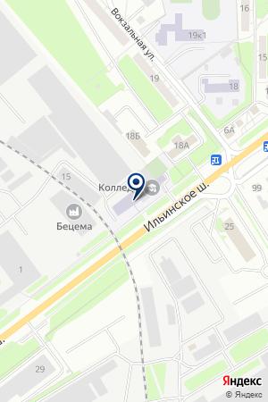 АВТОШКОЛА АВТОПОЛИС на карте Красногорска