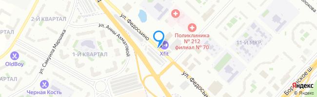 улица Федосьино