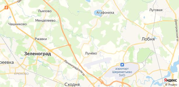 Поярково на карте