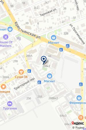 Анапасельхозтехника на карте Анапы