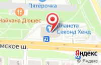 Схема проезда до компании Летопись-М в Москве